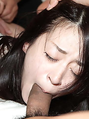 Japanese female pummeled