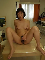 Delightful japanese mademoiselle wants to fuck with dildo