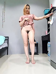 Juiciest asian MILF gets naked