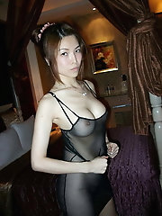 Lean furry japanese milf With puffy nips